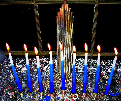 the final night of the festival of Hanukkah