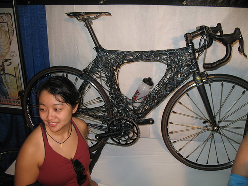 NAHBS: Calfee carbon bike