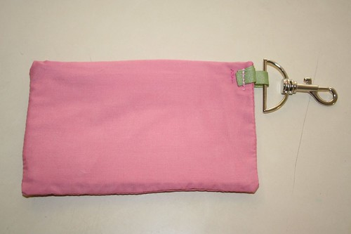 velcro key and cell phone pouch