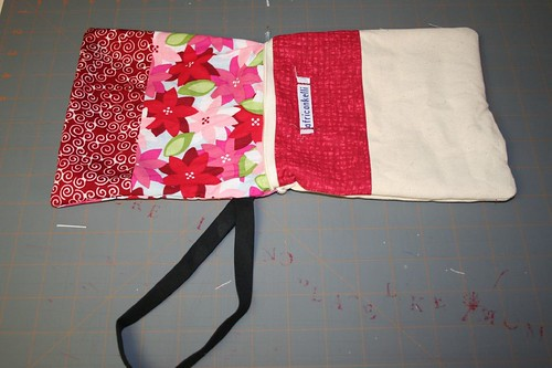 wristlet right side out, lining out