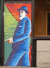 August Wilson Side Door Mural On The Iroquois ...