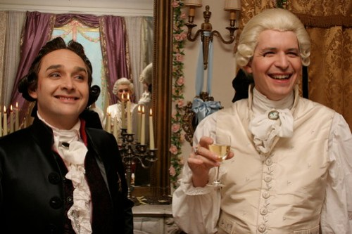 18th century bordello party in Paris