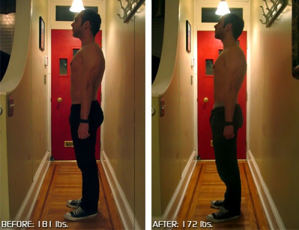 Weight Loss, side view