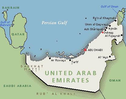 map of dubayy