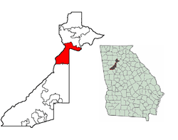 Fulton County, Sandy Springs (red)