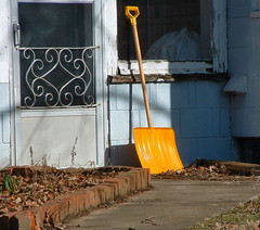Snow shovel by cindy47452 on Flickr (CC Licence)
