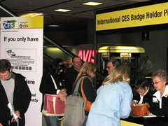 IMG_2289 ces badge pickup in airport