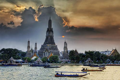 Wat Arun at Sunset