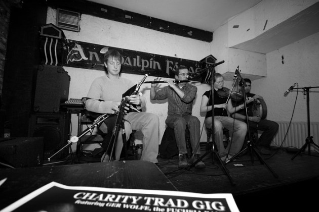 Trad Irish Music Gig at an Spailpin Fanach