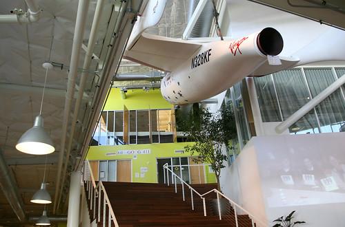 Google SpaceShipOne Replica