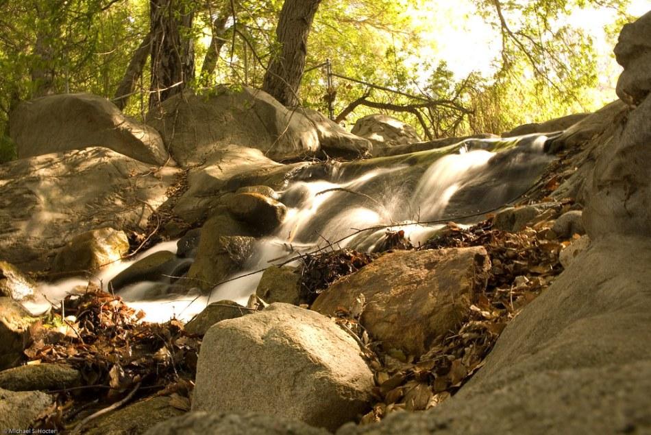 Descanso Gardens Waterfall (Long Exposure)
