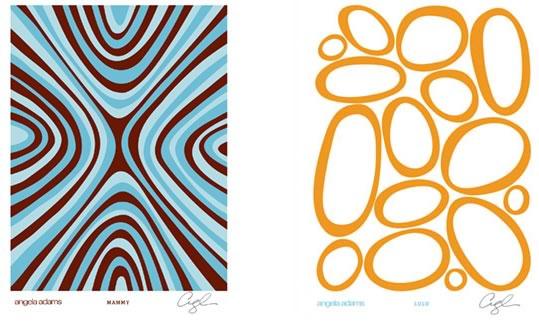 Angela Adams Rugs + Prints