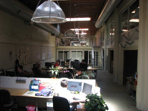 The old twitter offices