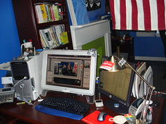 My ever-evolving workspace.