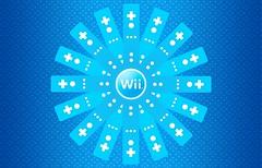 Wiimote Flower - Blue