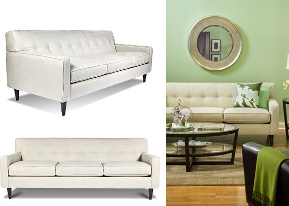 Boston Interiors Giselle Sofa + Chair