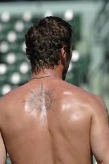 safin - tattoo - back
