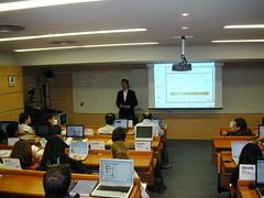Con David Gracia (eBay) y el International MBA
