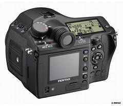 Pentax 645D prototype rear (200609-08)