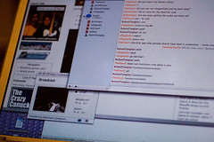 Canucks Outsider on ustream and IRC