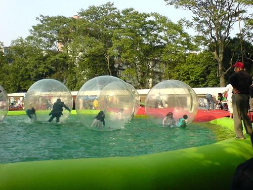 Bubbles in Zhongshan Park