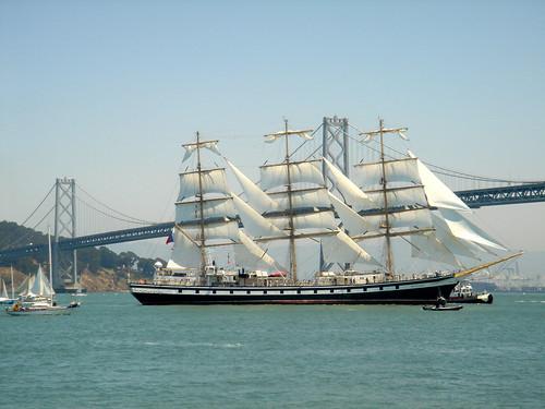 Russian tall ship Pallada