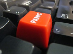 """Panic Button"" by star5112, via Flickr, see endnote for license info"