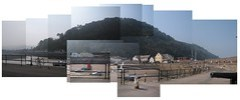 Minehead Harbour Photo Construction