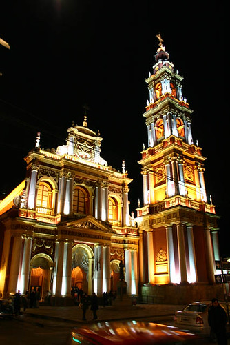 Salta's San Francisco Church by bgblogging