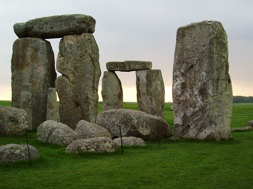 Stonehenge rock-art visit