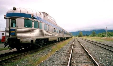 VIA in McBride BC en route to Jasper