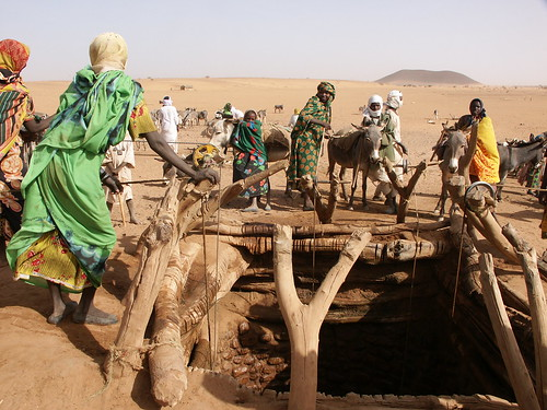 desertified land in Darfur