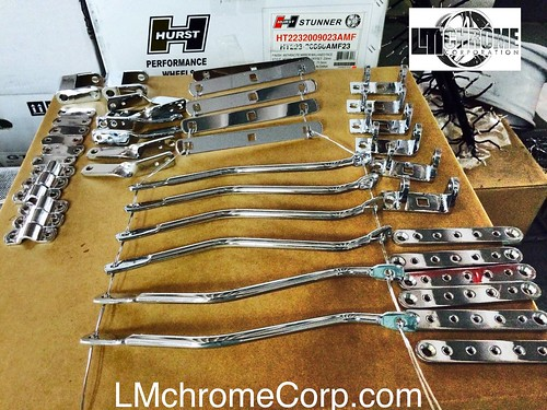 "Production Plating Available - small runs, large runs, onetime runs - on steel or aluminum - polish chrome finish or straight plating. We do chrome , nickle or copper plating. Call us for a quote today. • <a style=""font-size:0.8em;"" href=""http://www.flickr.com/photos/134158884@N03/19703964059/"" target=""_blank"">View on Flickr</a>"