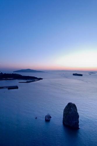 Angel Island at dawn