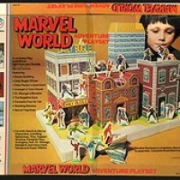 Marvel World playset