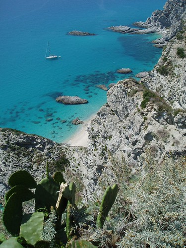 Coast at Capo Vaticano, Calabria #goodmemories