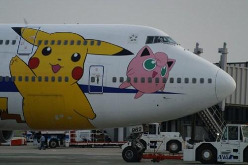 "ANA B747-481 (JA8962 ""Pokémon Jet"") @ ITM/RJOO"