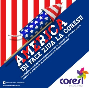 America îşi face ziua la Coresi!