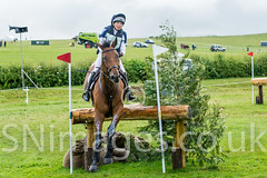 Herefordshire event rider Louise Harwood