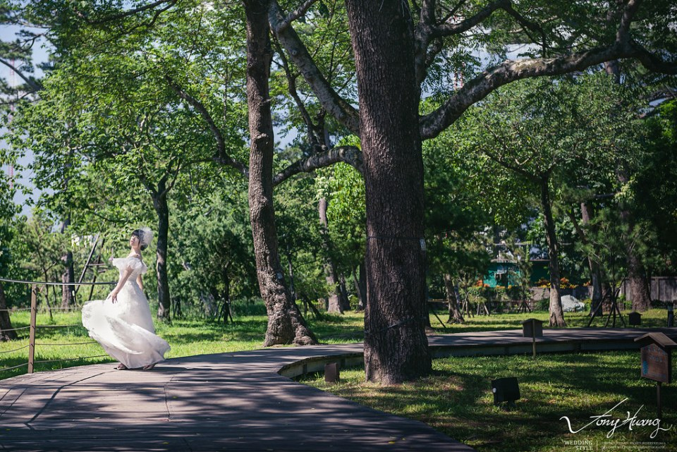 [自助婚紗] Tony & Dolly / 台北花博公園
