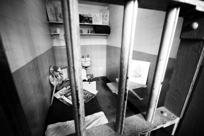 Alcatraz Cell Painting