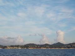 Nuages ascendants Rodney Bay