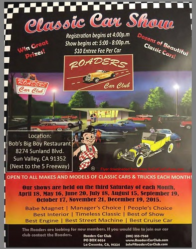 """SUN VALLEY CA USA """"Classic Car Show"""" December 19 Saturday 5pm to 8pm - open to all models. Best of Prizes. credit: www.SoCalCarCulture.com • <a style=""""font-size:0.8em;"""" href=""""http://www.flickr.com/photos/134158884@N03/23847094235/"""" target=""""_blank"""">View on Flickr</a>"""