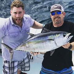 Chunky Black Fin Tuna today! #deepseafishingmiami#spellbound