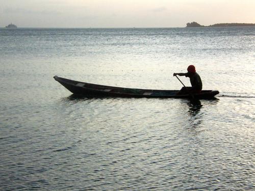 Boatman @ Bo Phut, Thailand