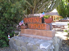 Sign at Mosby Winery
