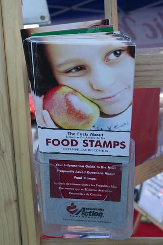 food stamp brochure