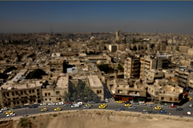Aleppo Tilt Shift, Syria