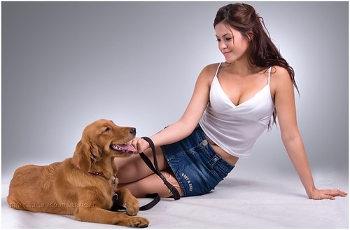 464738279 52aa206e39 Womans best friend: A Guyism tribute to cute girls with dogs