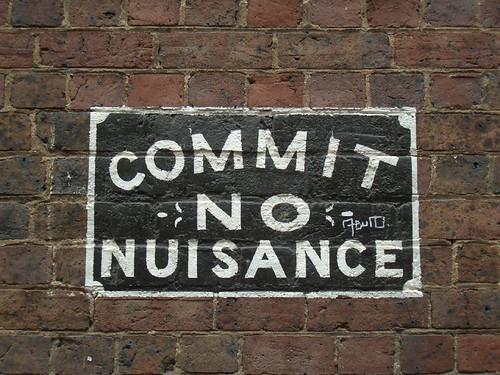 no nuisance